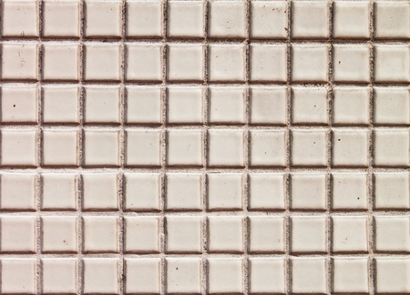 Seamless white square tiles texture  photo