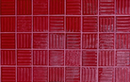 red tiles texture background photo