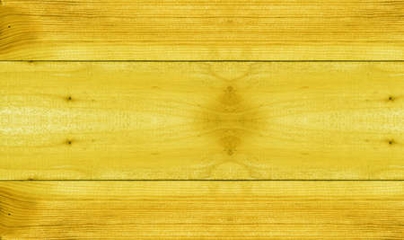 Texture of wood background closeup, yellow background  photo