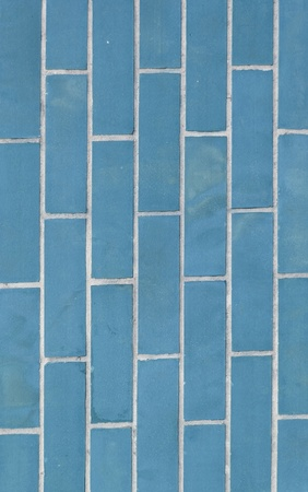 Light Blue BrickWall Texture and Background Stock Photo - 13773745