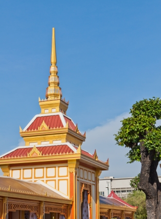Traditional Thai style architecture photo