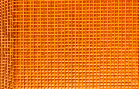 The bright orange background  photo