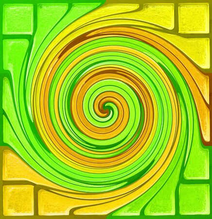 Abstract colourful background from glass mosaic photo