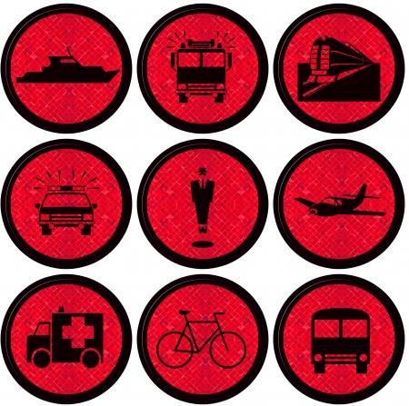 Transport Icons Stock Photo - 14352031