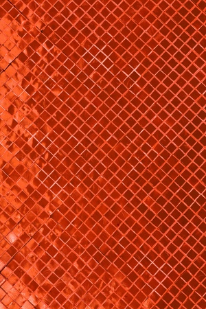 Copper mosaic background  photo