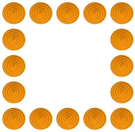 Seamless circle pattern background Stock Photo - 15163082