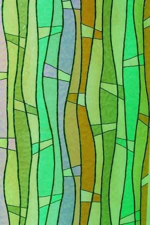 diagonals: Stained glass church window