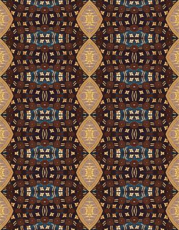 thai silk: Vintage traditional Thai style pattern Stock Photo