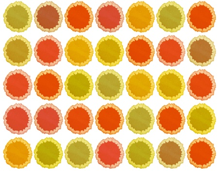 retro blots of watercolor paint for your design photo