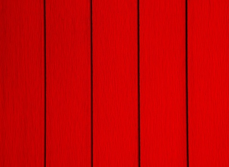 Red Painted Wood photo