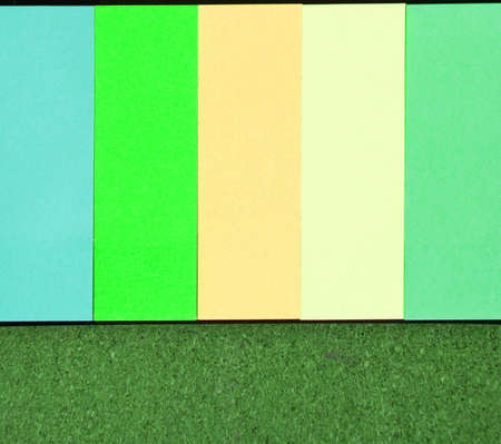 multicolored post it notes photo