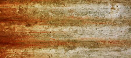 A rusty corrugated iron metal texture  photo
