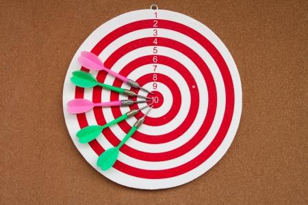 Target  Success concept Stock Photo - 17122304