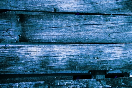 blue wood texture  background old panels