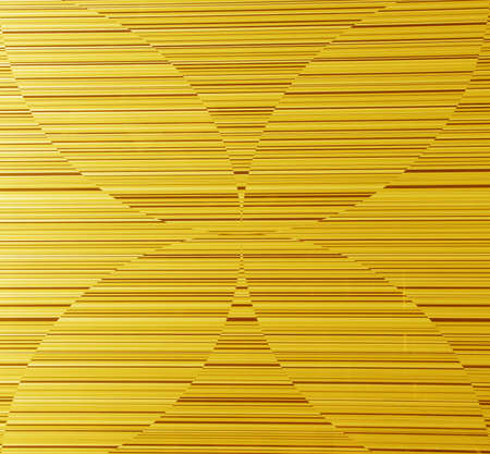 gold metal texture background with geometry line of light to decorative greeting card design Stock Photo