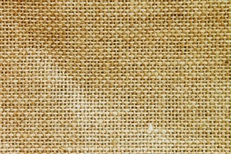 Texture of sack  Burlap background photo