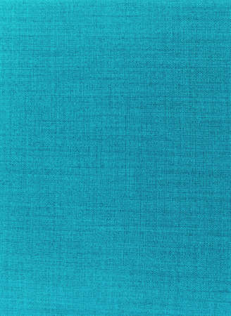 Texture of blue fabric background closeup photo