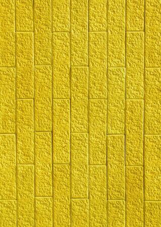 Yellow brick wall  Seamless background photo