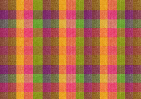 colorful classic checkered tablecloth texture, background photo