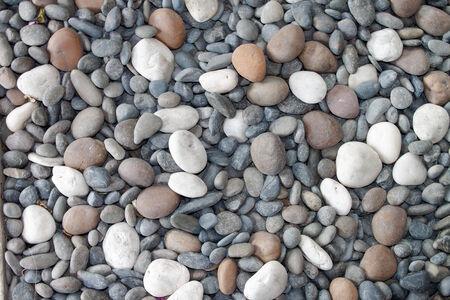 Pebble stone background  texture  Stock Photo