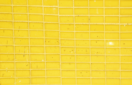 yellow ceramic texture Stock Photo