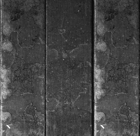 dark metal plate texture Stock Photo
