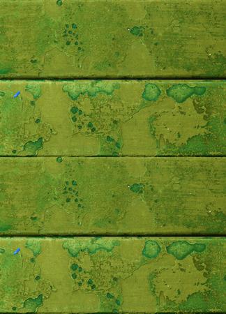 grunge green metal plate texture