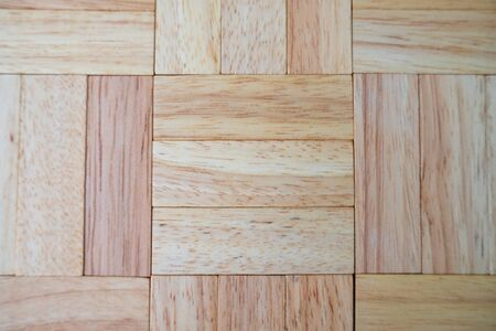 Wood block background with architecture model, Concept Risk of management and strategy plan, growth business success process and team work.