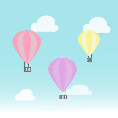 clound: balloon illustration