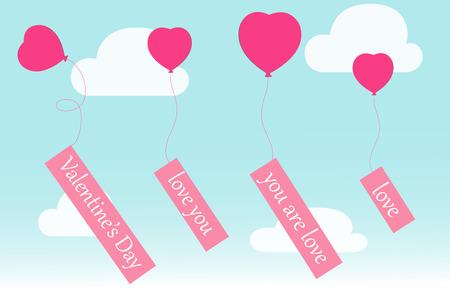 balon: graphic design,flying heart balloons,vector illustration,background,wallpaper