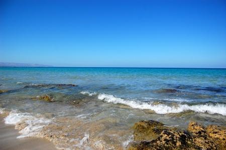 Paesaggio marino con rocce