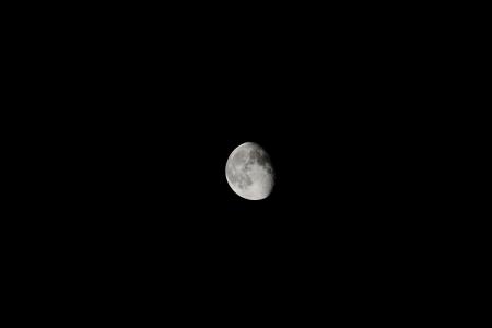 half-crescent moon photo