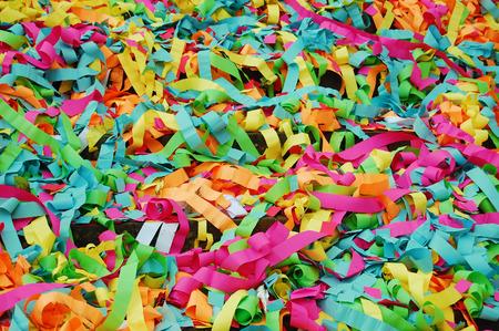 Strips of colored paper - nzareddi.