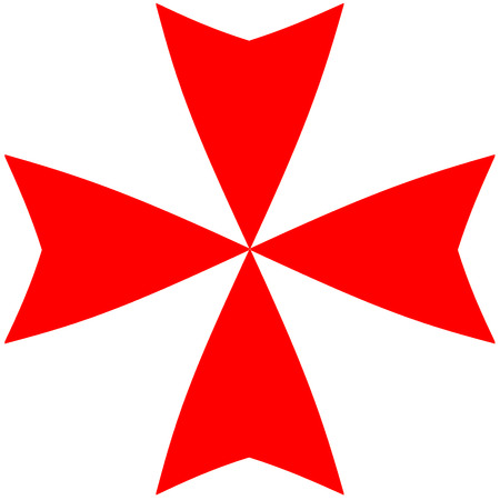 Cross Knights Of Malta Stock Photo Picture And Royalty Free Image