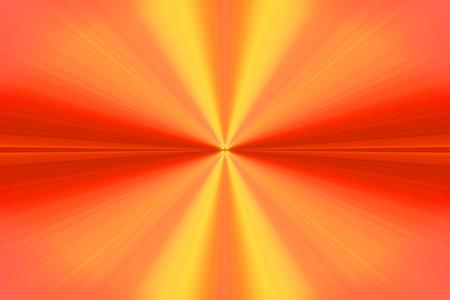 rote ampel: Strahlen roten Lichtes Orange Lizenzfreie Bilder