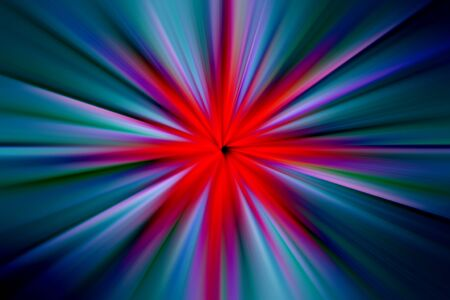 Explosion of colored light