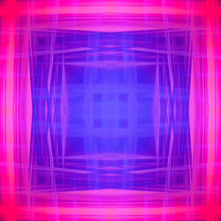 Digital drawing Blue and purple Stock Photo