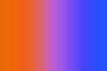 A gradient of bright colors ranging from orange to purple to blue. Multicolored fluid forms for web and mobile applications, social media,