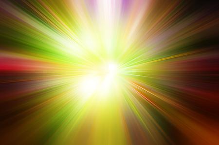 explosion de lumière de couleur rouge jaune vert Banque d'images