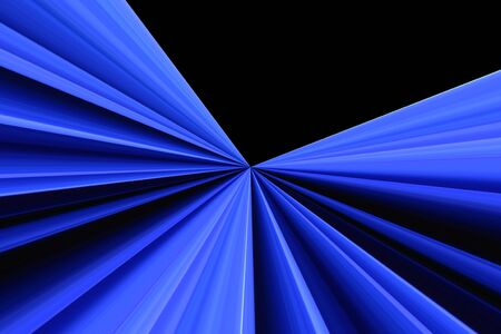 Blue and black radial wallpaper Stock Photo - 128981318