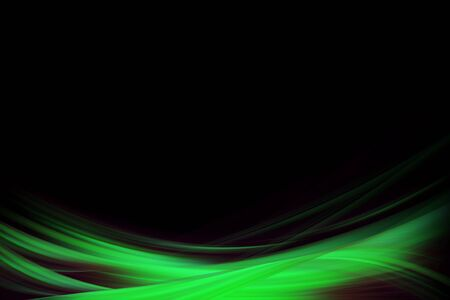 illustration with green gradient dynamic background