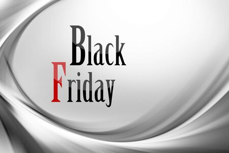 Illustration with various shades of gray with black friday written Zdjęcie Seryjne - 131994572