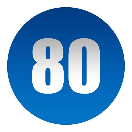 Minimum speed limit 80