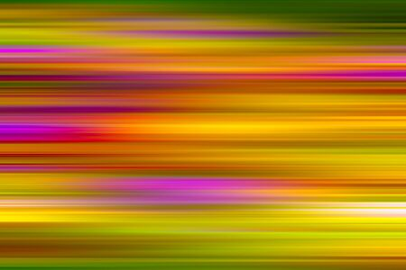 Abstract blurred background with yellow, orange and pink horizontal stripes. stock image