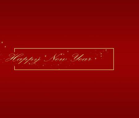 Happy new year stylish graphic design