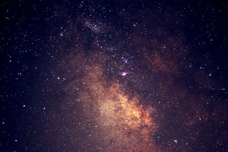 Detail of the Milky Way
