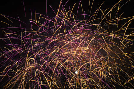 Fireworks to welcome the new year