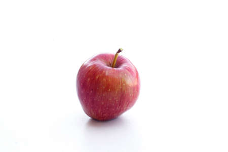 Beautiful red apple on a seamless superfood background Archivio Fotografico - 158813100