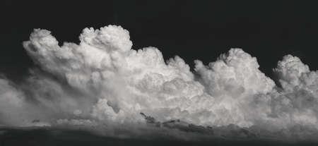grayscale storm clouds. grayscale clouds. Grayscale photos of clouds, nature, landscape, Archivio Fotografico - 158813105