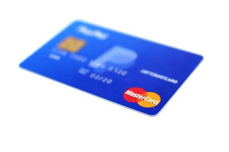 Credit card.Debit card isolated on white background Archivio Fotografico